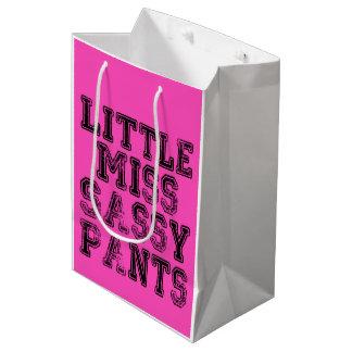 LITTLE MISS SASSY PANTS Gift Bag!! Medium Gift Bag