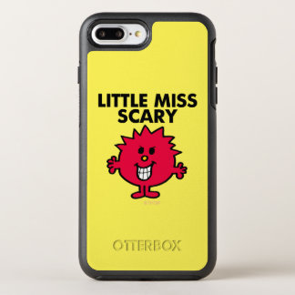 Little Miss Scary | Black Lettering OtterBox Symmetry iPhone 7 Plus Case