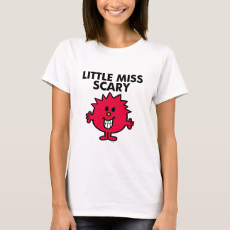 Little Miss Scary | Black Lettering T-Shirt