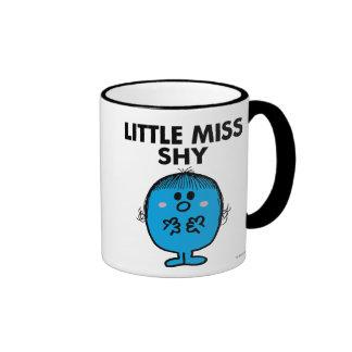 Little Miss Shy | Black Lettering Ringer Coffee Mug