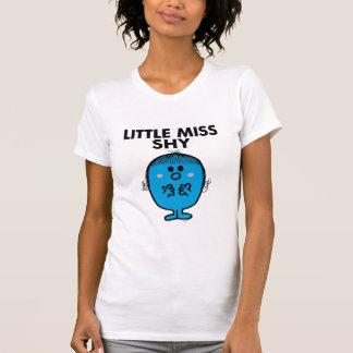 Little Miss Shy | Black Lettering T Shirt