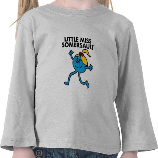 Little Miss Somersault Classic Shirt