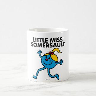 Little Miss Somersault Walking Tall Basic White Mug