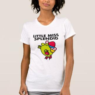 Little Miss Splendid   Black Lettering T-shirt