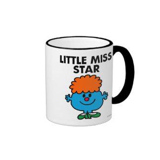Little Miss Star | Black Lettering Ringer Mug