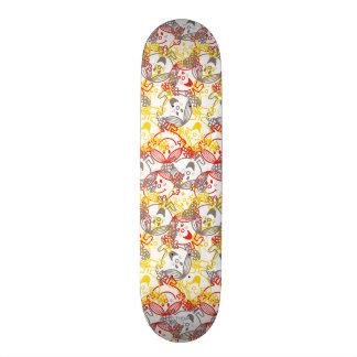 Little Miss Sunshine | All Smiles Pattern Skate Decks