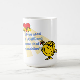 Little Miss Sunshine | All You Need is Love Coffee Mug
