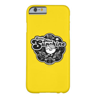 Little Miss Sunshine | Black & White Barely There iPhone 6 Case