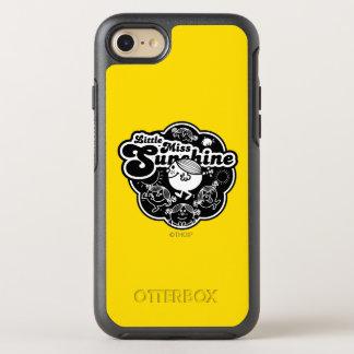 Little Miss Sunshine | Black & White OtterBox Symmetry iPhone 7 Case