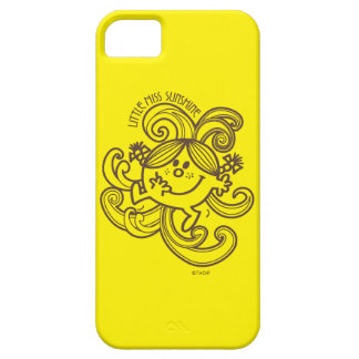 Little Miss Sunshine | Black & White Swirls Barely There iPhone 5 Case