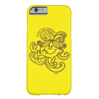 Little Miss Sunshine | Black & White Swirls Barely There iPhone 6 Case