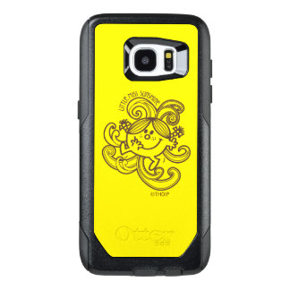 Little Miss Sunshine | Black & White Swirls OtterBox Samsung Galaxy S7 Edge Case