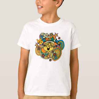 Little Miss Sunshine | Floral Delight T-Shirt