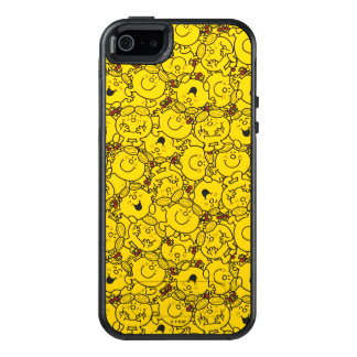 Little Miss Sunshine | Fun Yellow Smiles Pattern OtterBox iPhone 5/5s/SE Case