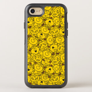 Little Miss Sunshine | Fun Yellow Smiles Pattern OtterBox Symmetry iPhone 7 Case
