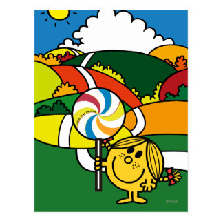 Little Miss Sunshine | Hills & Lollypop Postcard