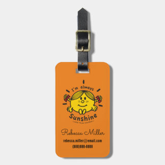 Little Miss Sunshine | I'm Always Sunshine Bag Tag