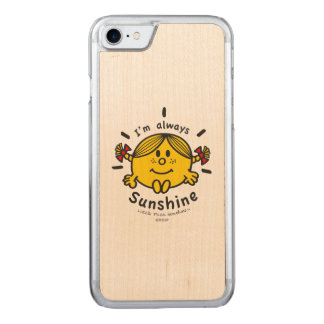 Little Miss Sunshine | I'm Always Sunshine Carved iPhone 8/7 Case