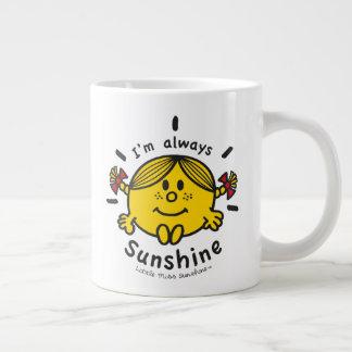 Little Miss Sunshine | I'm Always Sunshine Large Coffee Mug