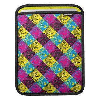 Little Miss Sunshine   Neon Pattern iPad Sleeve