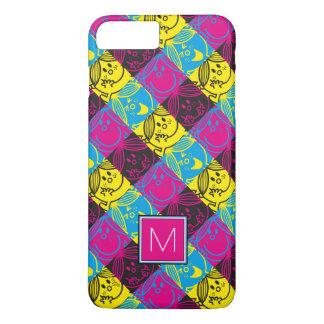 Little Miss Sunshine | Neon Pattern | Monogram iPhone 8 Plus/7 Plus Case
