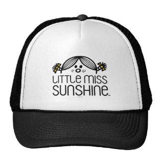 Little Miss Sunshine Peeking Over Name Cap
