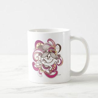 Little Miss Sunshine | Pink Swirls Coffee Mug