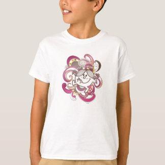 Little Miss Sunshine   Pink Swirls T-Shirt