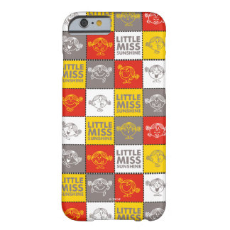 Little Miss Sunshine | Red & Yellow Pattern Barely There iPhone 6 Case