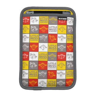 Little Miss Sunshine | Red & Yellow Pattern iPad Mini Sleeve