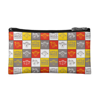 Little Miss Sunshine | Red & Yellow Pattern Makeup Bag
