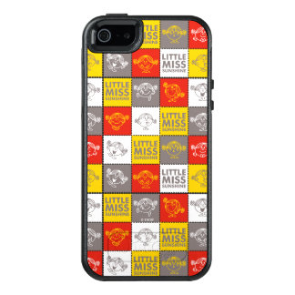 Little Miss Sunshine | Red & Yellow Pattern OtterBox iPhone 5/5s/SE Case