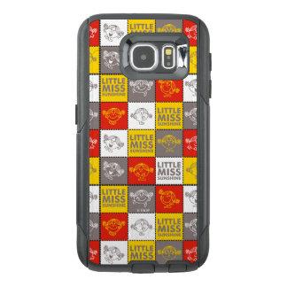 Little Miss Sunshine | Red & Yellow Pattern OtterBox Samsung Galaxy S6 Case