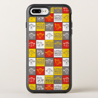 Little Miss Sunshine | Red & Yellow Pattern OtterBox Symmetry iPhone 8 Plus/7 Plus Case