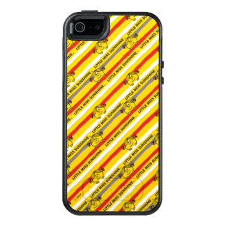 Little Miss Sunshine | Red, Yellow Stripes Pattern OtterBox iPhone 5/5s/SE Case