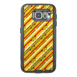 Little Miss Sunshine | Red, Yellow Stripes Pattern OtterBox Samsung Galaxy S6 Case
