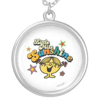 Little Miss Sunshine | Stars & Flowers Silver Plated Necklace