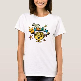 Little Miss Sunshine | Stars & Flowers T-Shirt