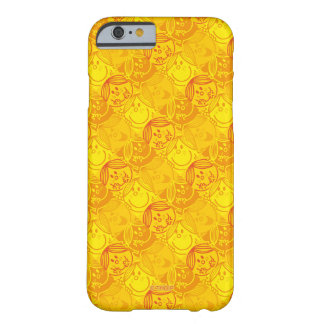 Little Miss Sunshine | Sunny Yellow Pattern Barely There iPhone 6 Case