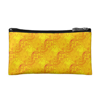 Little Miss Sunshine | Sunny Yellow Pattern Cosmetic Bags