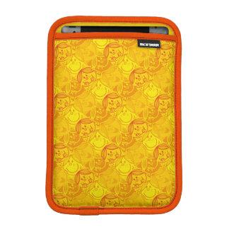 Little Miss Sunshine | Sunny Yellow Pattern iPad Mini Sleeve