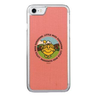 Little Miss Sunshine | Sunshine Circle Carved iPhone 7 Case