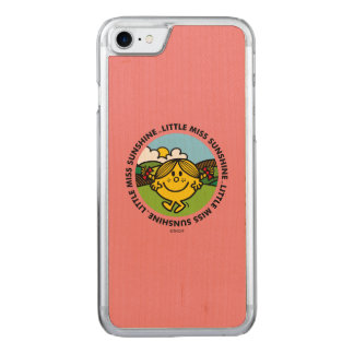 Little Miss Sunshine | Sunshine Circle Carved iPhone 8/7 Case