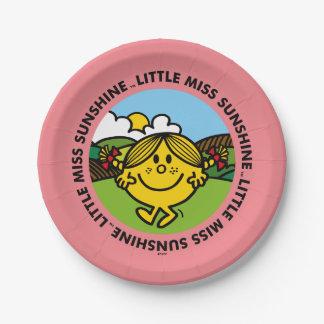 Little Miss Sunshine | Sunshine Circle Paper Plate