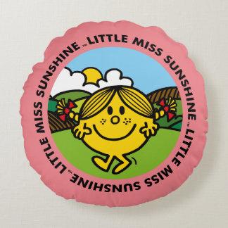 Little Miss Sunshine | Sunshine Circle Round Cushion