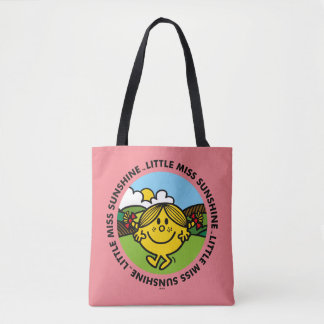 Little Miss Sunshine | Sunshine Circle Tote Bag