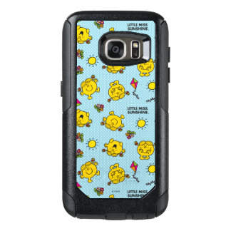 Little Miss Sunshine | Teal Polka Dot Pattern OtterBox Samsung Galaxy S7 Case
