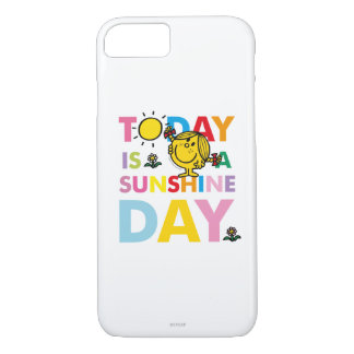 Little Miss Sunshine | Today is a Sunshine Day iPhone 8/7 Case