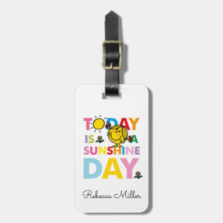 Little Miss Sunshine | Today is a Sunshine Day Luggage Tag