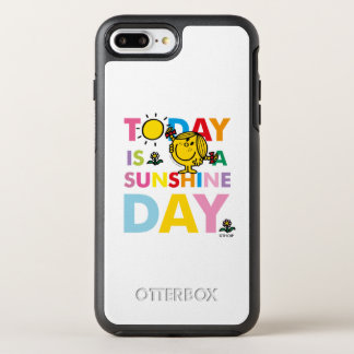 Little Miss Sunshine | Today is a Sunshine Day OtterBox Symmetry iPhone 8 Plus/7 Plus Case